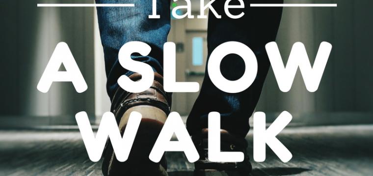 Take a Slow Walk
