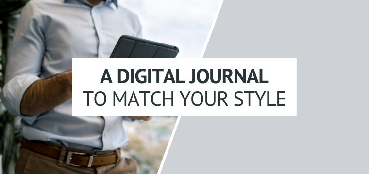 A Digital Journal To Match Your Style